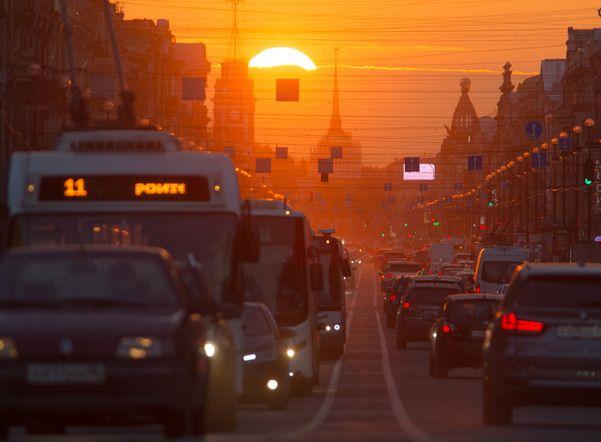 Воскресенье порадует петербуржцев теплой погодой