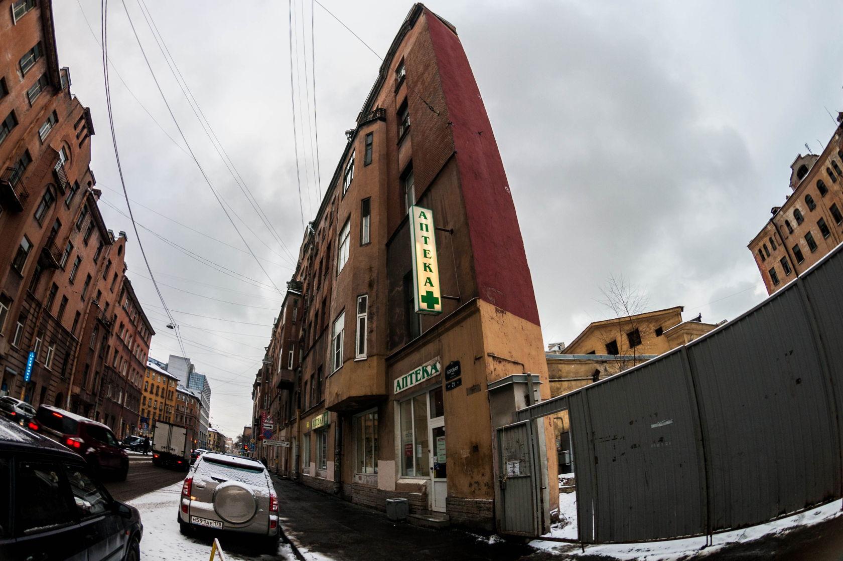трансплацентарной плоский дом в питере фото бестиарии, градостроительстве, астрологии